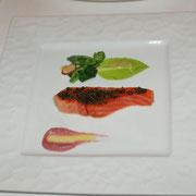 前菜(トラウトのコンフィ)
