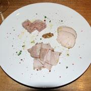 牛・豚・鶏 3種のアンティパスト