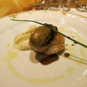 牡蠣と帆立のポアレ
