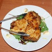 ○○鯛のグリル、バルサミコソース