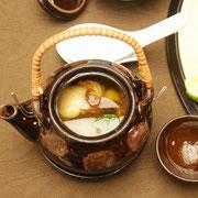 県産松茸の土瓶蒸し
