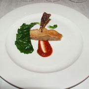魚:昆布締め鮭