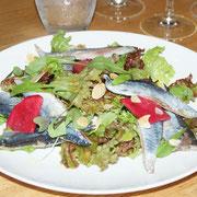 秋刀魚のサラダ