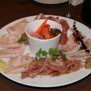 加工肉の前菜