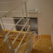 2F階段完成