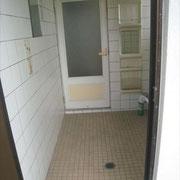 浴室施工前状況