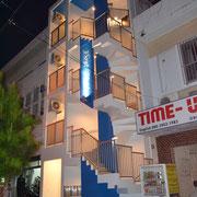 建物完成(西側・夜間の状況)