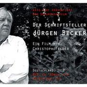 Der Schriftsteller Jürgen Becker