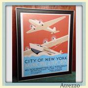 Cuadro NY Airport (Grande) / REF: CUA-015 / 65 x 55 cms./ 1 unidad / Arriendo: $ 15.000 / Garantía: $ 45.000