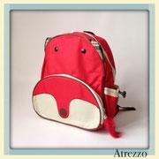 Mochila Niños Zorro Rojo / REF: MAL-016 / 1 unidad / Arriendo: $ 3.500 / Garantía: $ 15.000