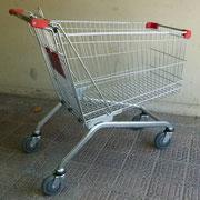 Carro Supermercado Grande/ REF: VAR- 071/ medidas: 90x60x100 CMS./ 1 unidad / Arriendo: $ 18.000 c/u / Garantía: $ 80.000