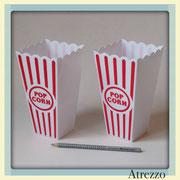 CAJAS POP CORN PLASTICAS (MEDIANAS) / REF: DEC-049 / 2 UNIDADES/ Arriendo $ 2.000 C/U  / Garantía $ 8.000 C/U