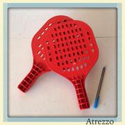 Set paletas playa plastico Rojo/ REF: VAR- 0/ 1 unidad / Arriendo: $ 2.000 / Garantía: $ 5.000