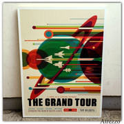 Cuadro grande GRAND TOUR  (sin vidrio) / Medidas : 1,14 x 84 cms./ 1 unidad / Arriendo: $ 20.000 / Garantía: $ 45.000