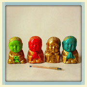 Baby Budas colores / REF: DEC-051  / 4 unidades /  Arriendo: $ 2.000 c/u / Garantía: $ 10.000 C/U
