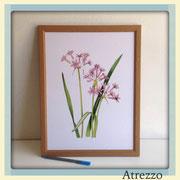 Cuadro serie Flores 1 / REF: CUA-078 / 30 x 40 cms./ 1 unidad / Arriendo: $ 5.000 / Garantía: $ 25.000