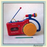 RADIO CASSETTE MY FIRST SONY / REF: VAR- 0/ 1 unidad / Arriendo: $ 15.000 / Garantía: $ 50.000
