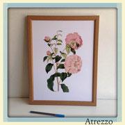 Cuadro serie flores 3 / REF: CUA-079 / 30 x 40 cms./ 1 unidad / Arriendo: $ 5.000 / Garantía: $ 25.000