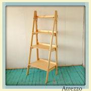 Respisa escalera madera natural / REF: mue-068 / 1,55 alto x 65 cms./ 2 unidades / Arriendo: $ 15.000 / Garantía: $ 50.000