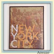 Cuadro NEW YORK CITY (CON VIDRIO) / REF: CUA-054 / 50 x 40 cms./ 1 unidad / Arriendo: $ 10.000 / Garantía: $ 30.000