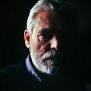 Manolo Fuentes, escultor.