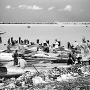 Pescadores de Zinguinchor, capital de la Casamance
