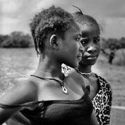 La etnia Diola que puebla la Casamance me pareció francamente de una belleza extraordinaria, sin distinción de género.