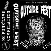 VARIOUS ARTISTS - Outside Fest Vol.7 2018 MC Tape