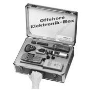 Offshore-Elektronik-Box, Abbildung für Flyer, Folder und Preislisten.