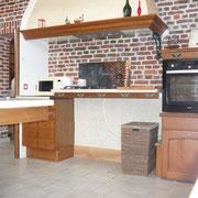 plan de travail cuisson réglable en hauteur gîte rural Saint Quentin Aisne Laon Noyon Compiegne Peronne
