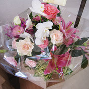お花…!ありがとうございました!