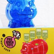 Sparschwein mit mehreren Sparkammern für unterschiedliche Zwecke