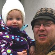 """Maicel Hildebrandt (Vater in Bochum): """"Ich erkläre meiner Tochter beim Einkaufen wirklich alles!"""""""