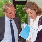 mit Arno Bühring, BASF