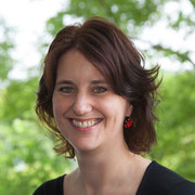 Anne Schneider, immer gut gelaunte Koordinatorin der Aktionswoche bei der Diakonie Düsseldorf