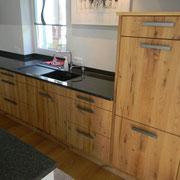 Einbauküche Eiche Altholz