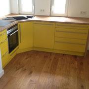 Einbauküche Kunststoffdecor