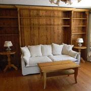 Bibliothek in Altholz Fichte geölt