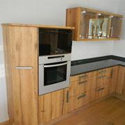 Küche in Altholz Eiche geölt