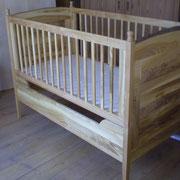 Babybett / Kinderbett mit und ohne Gitter !