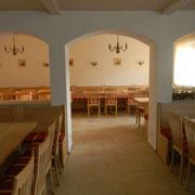 Eckbänke Tische und Stühle für Landgasthof