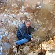 Io al lavoro sul geode