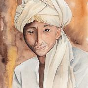 GHERALTA -A31X41-  portrait d'un jeune prêtre novice rencontré dans le massif du Gheralta