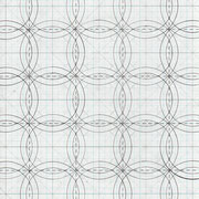 "Nuclear Wedding Ring, God's Eye: Component #1. Graphite on graph paper. 11"" x 8.5"" 2011"