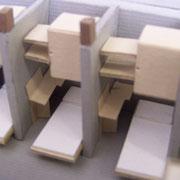PARTICOLARE PIANO IPOGEO - MOBILI TRASFORMABILI