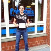Marco Invidia hat seinen B-Führerschein seit dem 30.09.14!