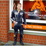 Florian Walter hat seinen A2S-Führerschein seit dem 17.08.15!