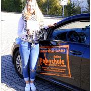 Lea Bederke hat ihren B-Führerschein seit dem 28.09.15!