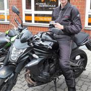 Alexander Scheller hat seinen A2 Führerschein seit dem 26.09.16