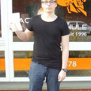 Eike Mank hat seinen B Führerschein seit dem 16.02.17